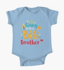 Big Brother Baby Announcement Shirt One Piece - Short Sleeve