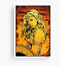 princess of power! Canvas Print