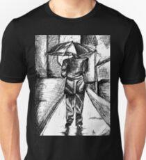 Man in the rain T-Shirt