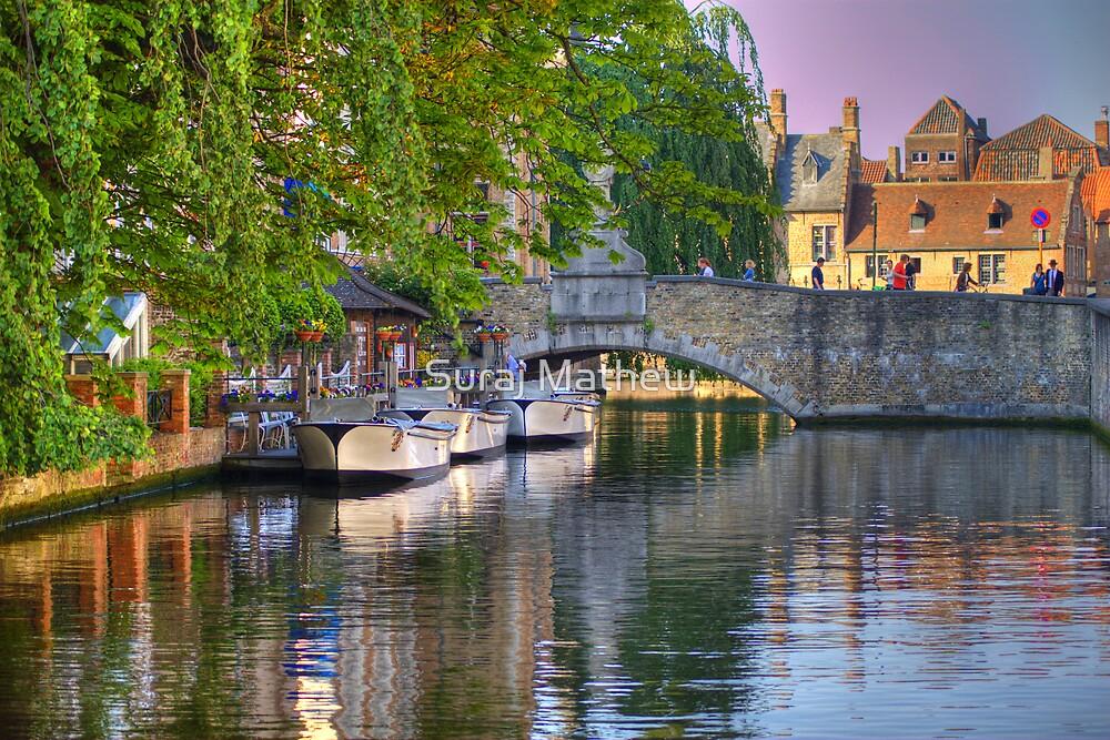 Canal Boats by Suraj Mathew
