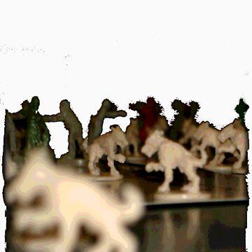 zombie dogs by dvncamael