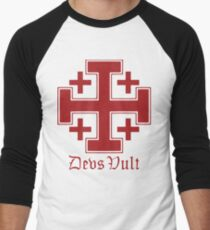 Deus Vult Cross (red) T-Shirt