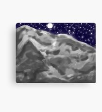 Cold, Clear Night Canvas Print