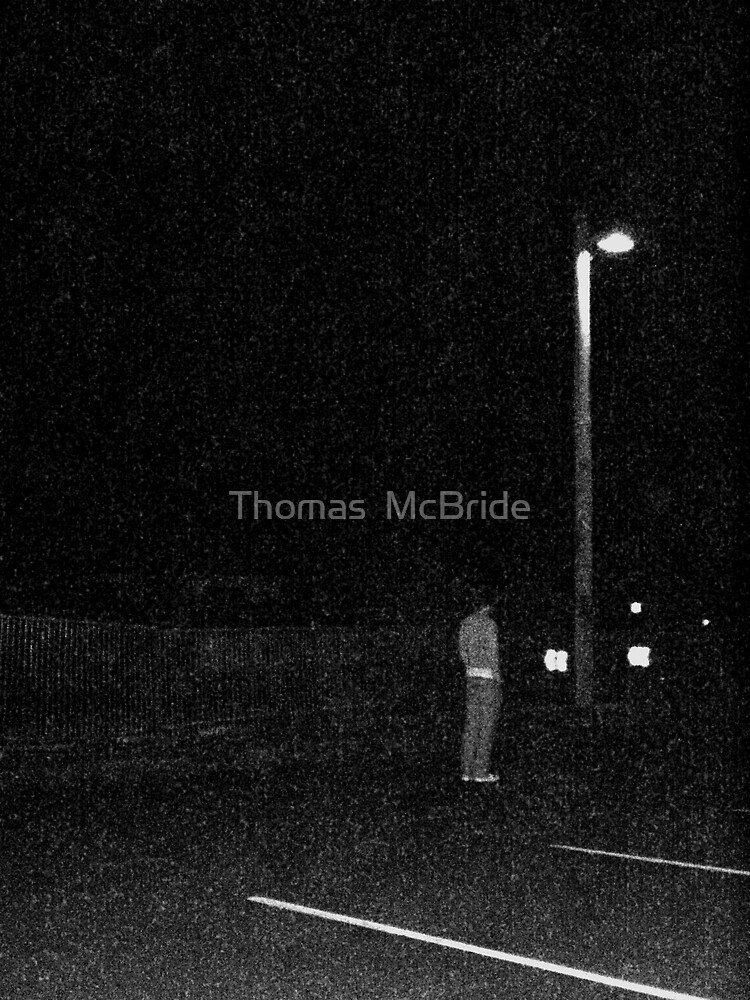man under street light by Thomas  McBride