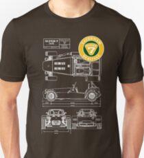 Super 7 Caterham 360R Heritage Diagram WHT T-Shirt