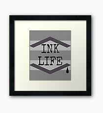 Ink life Framed Print