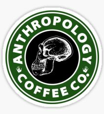 Anthropology Coffee Co. Sticker