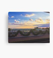 Monorail Canvas Print