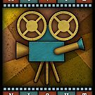 "Movie Night ""Camera"" - by Landron Artifacts by landronart"