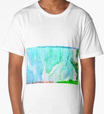 Watercolor Long T-Shirt