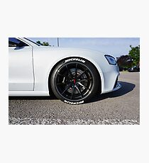 Audi RS5 Photographic Print