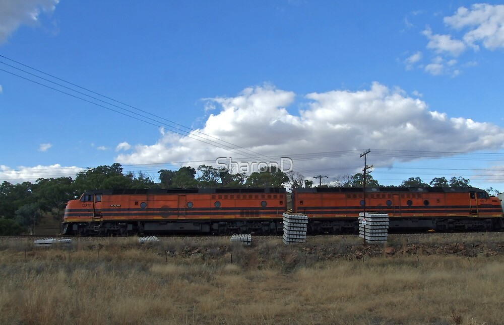 Double diesels by SharonD