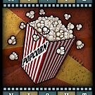 Movie Night Popcorn - by Landron Artifacts by landronart