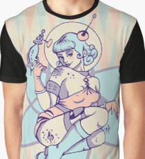 Space Babe Graphic T-Shirt