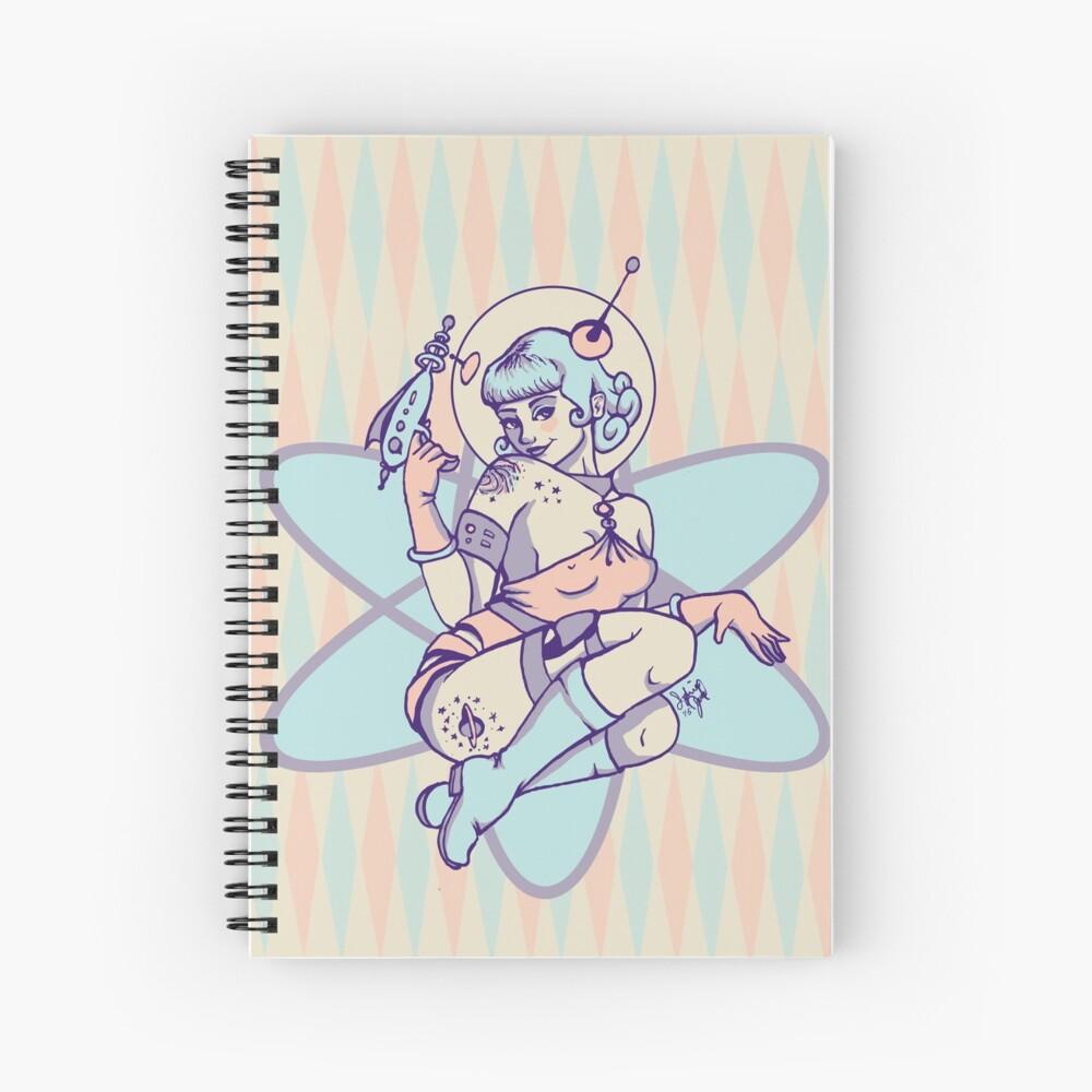 Space Babe Spiral Notebook
