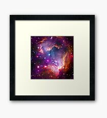 The Wing of the Small Magellanic Cloud  Framed Print