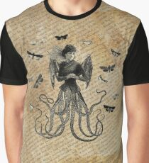 Octopia Lepidoptera Graphic T-Shirt