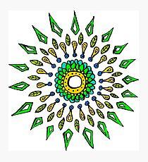 Circular Pattern Photographic Print