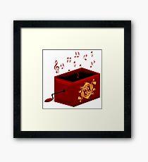 Music Box Player Framed Print