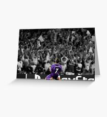 Cristiano Ronaldo 2017 Greeting Card