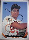 290 - Luis Mercedes by Foob's Baseball Cards