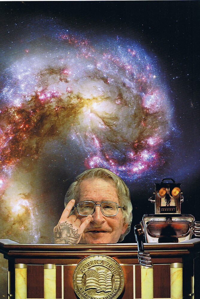 Chomsky for President of my HEART by atomikboy