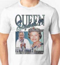 HRH QUEEN ELIZABETH II VINTAGE T-SHIRT T-Shirt