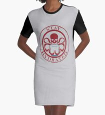 Stay Hydrated Graphic T-Shirt Dress