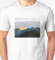 Gravel Landscape at Sunset T-Shirt