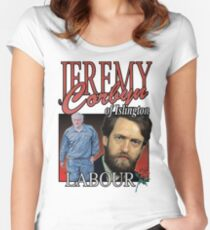 JEREMY CORBYN LABOUR VINTAGE Tee Women's Fitted Scoop T-Shirt