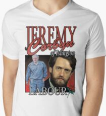 JEREMY CORBYN LABOUR VINTAGE Tee Men's V-Neck T-Shirt