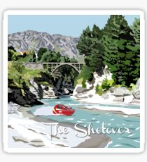 The Shotover River by Ira Mitchell-Kirk Sticker