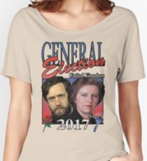 GENERAL ELECTION 2017 VINTAGE TSHIRT Women's Relaxed Fit T-Shirt