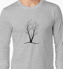 A Two-trunked Tree Long Sleeve T-Shirt