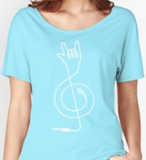 Rock Music Unplugged Women's Relaxed Fit T-Shirt