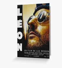 Leon Greeting Card