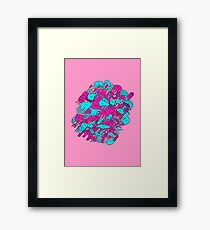 Happy Creatures Framed Print