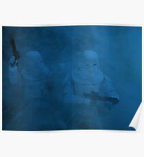 Storm on Hoth (dark version) Poster