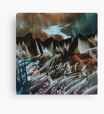 Land of Mordor Canvas Print