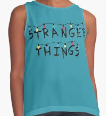 Stranger Things Fairy Lights Contrast Tank