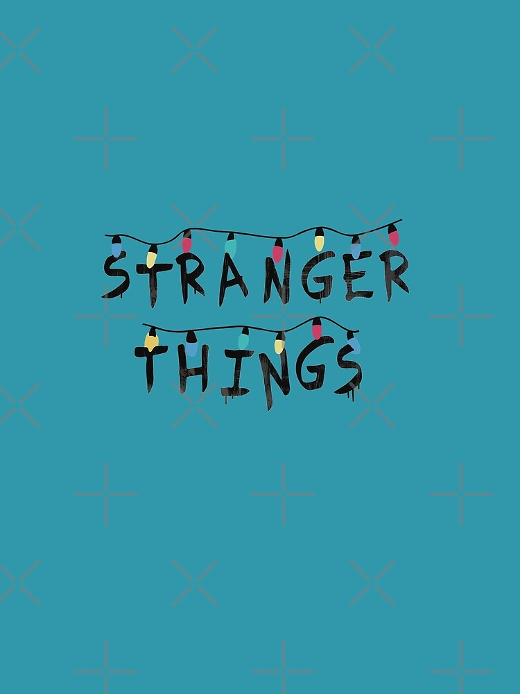 Stranger Things Fairy Lights by -monkey-