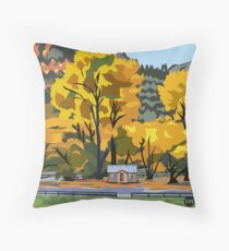 Arrowtown Gold Throw Pillow