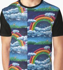 Painting Rainblows Graphic T-Shirt