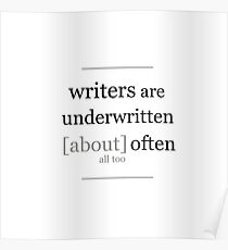 Writers... Poster