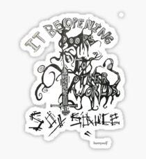 soy sauce Sticker