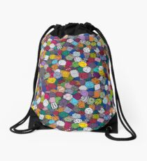 Gamer Dice Drawstring Bag