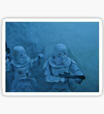 Storm on Hoth (light version) Sticker