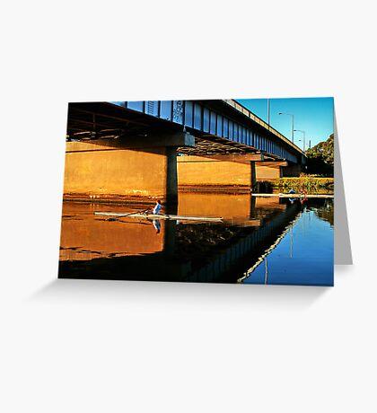 """""""Moorabool Street Bridge"""" Greeting Card"""