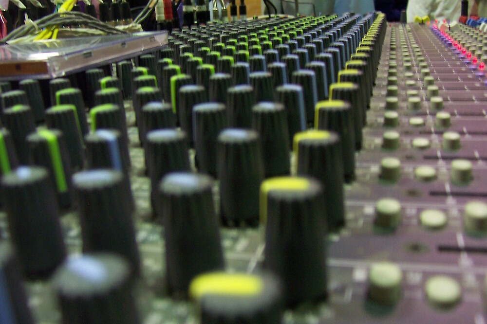 Sound Desk by Youngroper