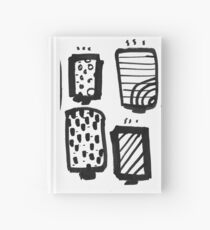 Hot Cups of Tea  Hardcover Journal